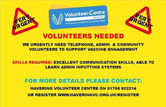 Vaccine volunteers needed