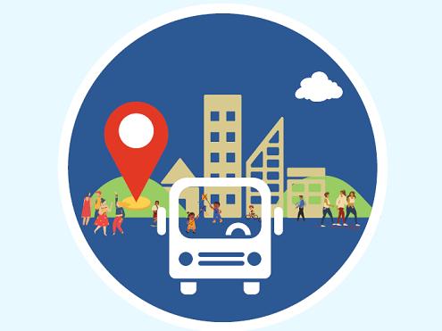 Community roadshows summer 2021 logo