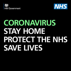Coronavirus. Stay home. Save lives