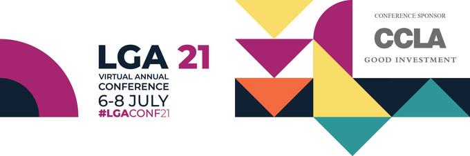 LGA annual conference 2021 banner