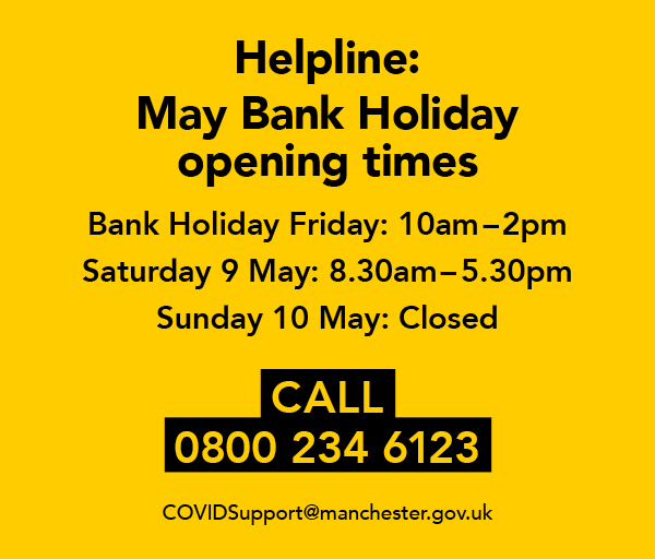 COVID support helpline