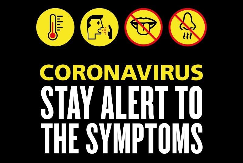 Be aware of the symptoms