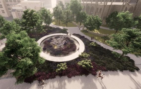 Impression of memorial design