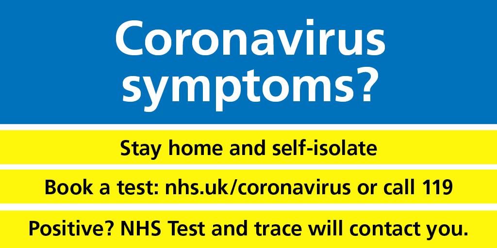Coronavirus symptoms?