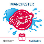 Swimming is back - Manchester Active