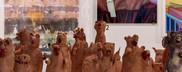 Ceramic weasels