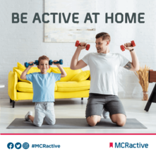 Be active at home