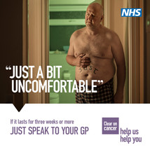 If abdominal pain lasts for three weeks or more, just speak to your GP