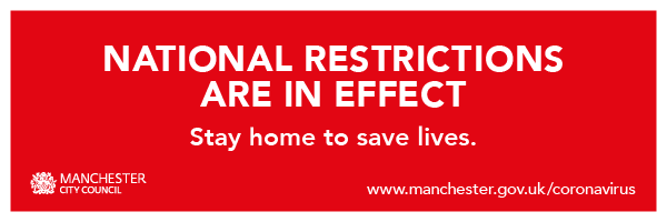 National restrictions are in effect. Stay home to save lives.