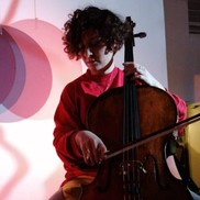 photo of Francescca playing cello