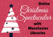 Christmas spectacular poster with tree