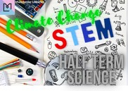 STEM Club half term science poster