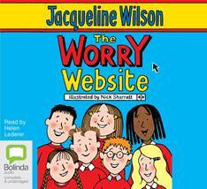 The worry website by Jacqueline Wilson front cover