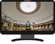Reading Room image on PC screen