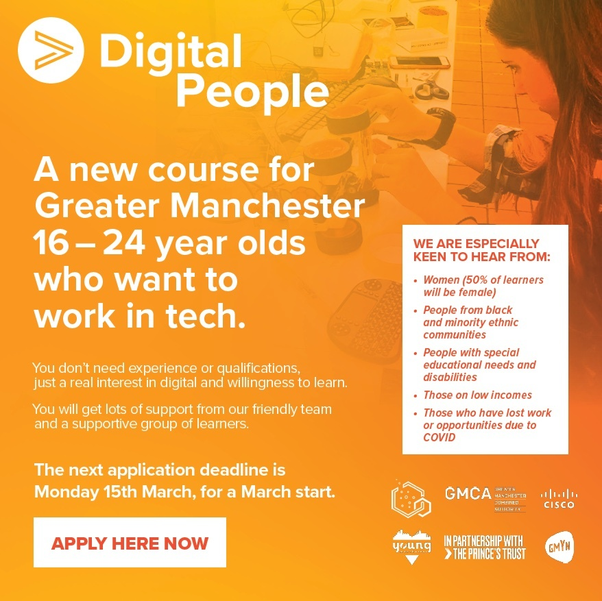 Digital opportunity for young people