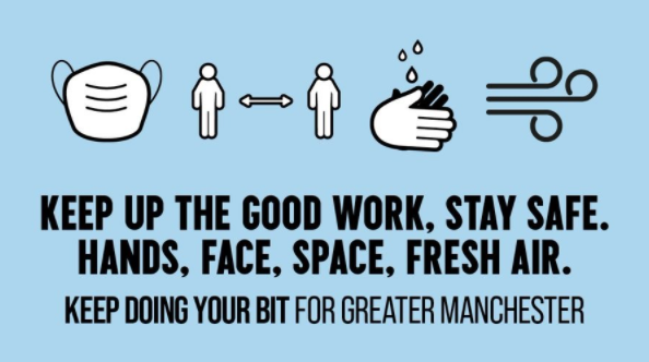Keep doing your bit for Greater Manchester