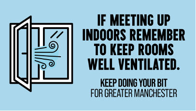 If meeting indoors, remember to keep rooms well venitlated