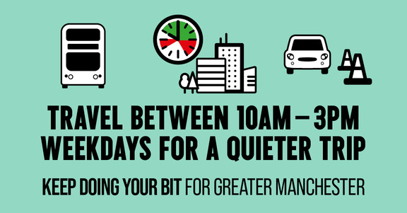 Travel Between 10am-3pm Weekdays for a Quieter Trip