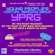 Young Persons Reading Group Banner