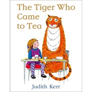 The tiger that came for tea book cover