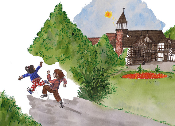 Ian Morris illustration