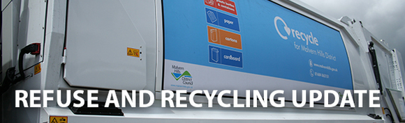 Refuse and recycling update banner
