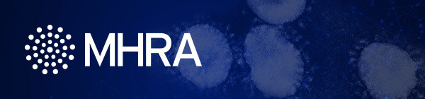 MHRA Central Alerting System team Coronavirus alerts banner