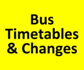 Bud Timetables & Changes