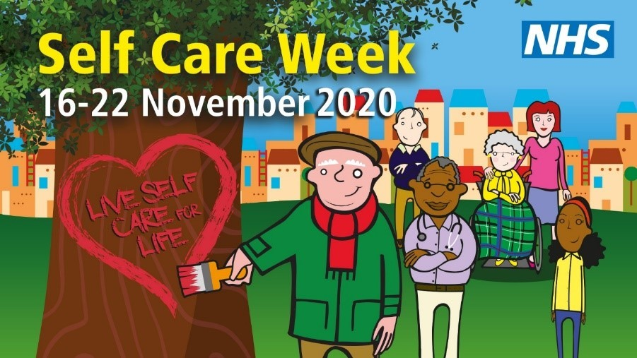 Self care week promo image