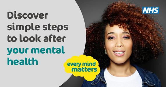 Public Health England launched their new Every Mind Matters Campaign – 'Make Inside Feel Better' this week.