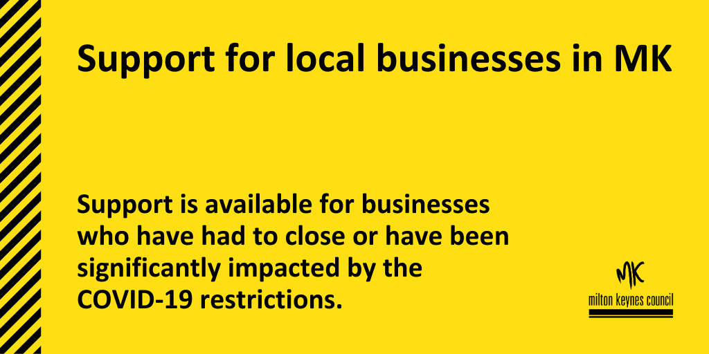 Support for local businesses in MK image