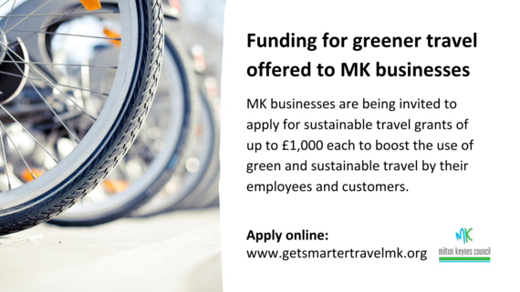 Funding for greener travel for MK businesses