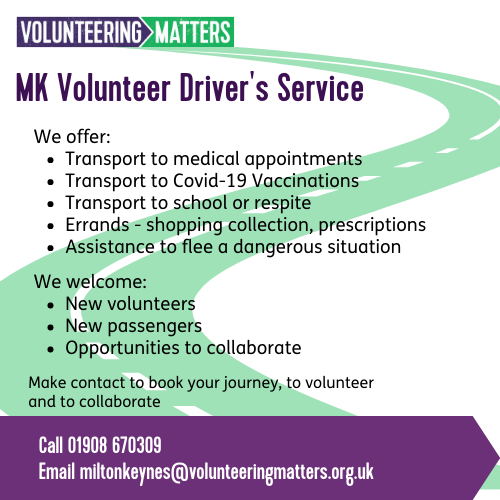 MK Volunteer Driver's Service