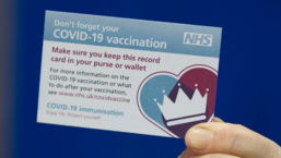 Image of COVID-19 vaccine card