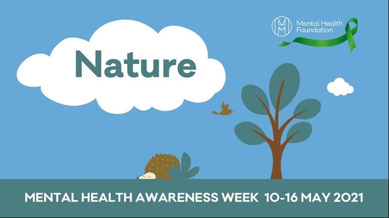 Mental Health Awareness Week stock image