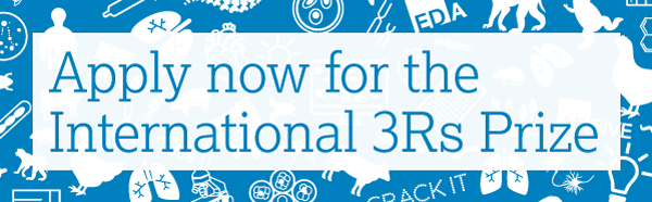 Apply now for the International 3Rs Prize
