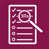 3Rs self-assessment tool icon