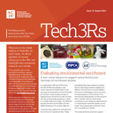 Front page of August 2021 edition of Tech3Rs