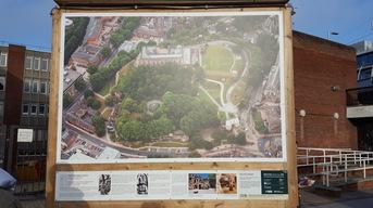 Castle display board