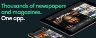 App for newspapers and magazines