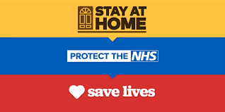 Stay Home Stay Safe Poster Image