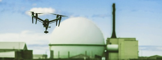 Drone at Dounreay