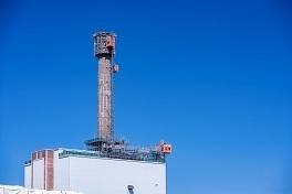 Sellafield chimney stack