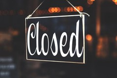 Closed businesses