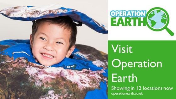 Visit our family show Operation Earth