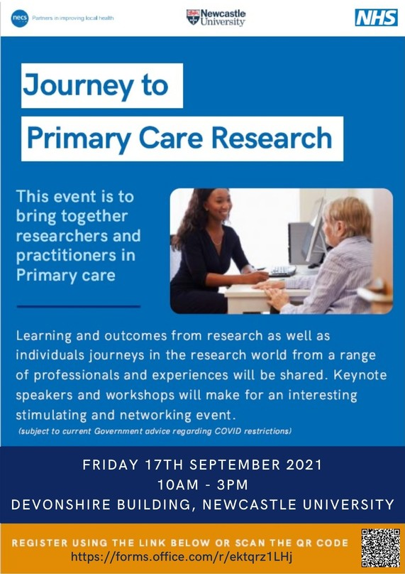 Journey to Primary Care Research