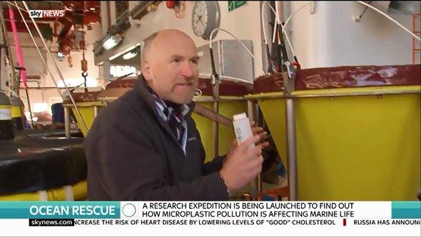NOC's Professor Richard Lampitt talks to Sky news