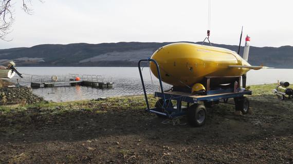 ALR shoreside, Loch Ness
