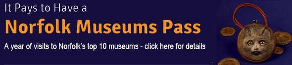 Click for more info on the Norfolk Museums Pass