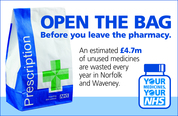 Your medicines, your NHS logo